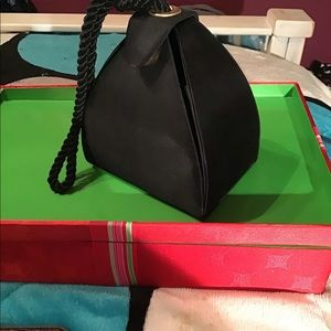 Vintage Satin Out On The Town Handbag